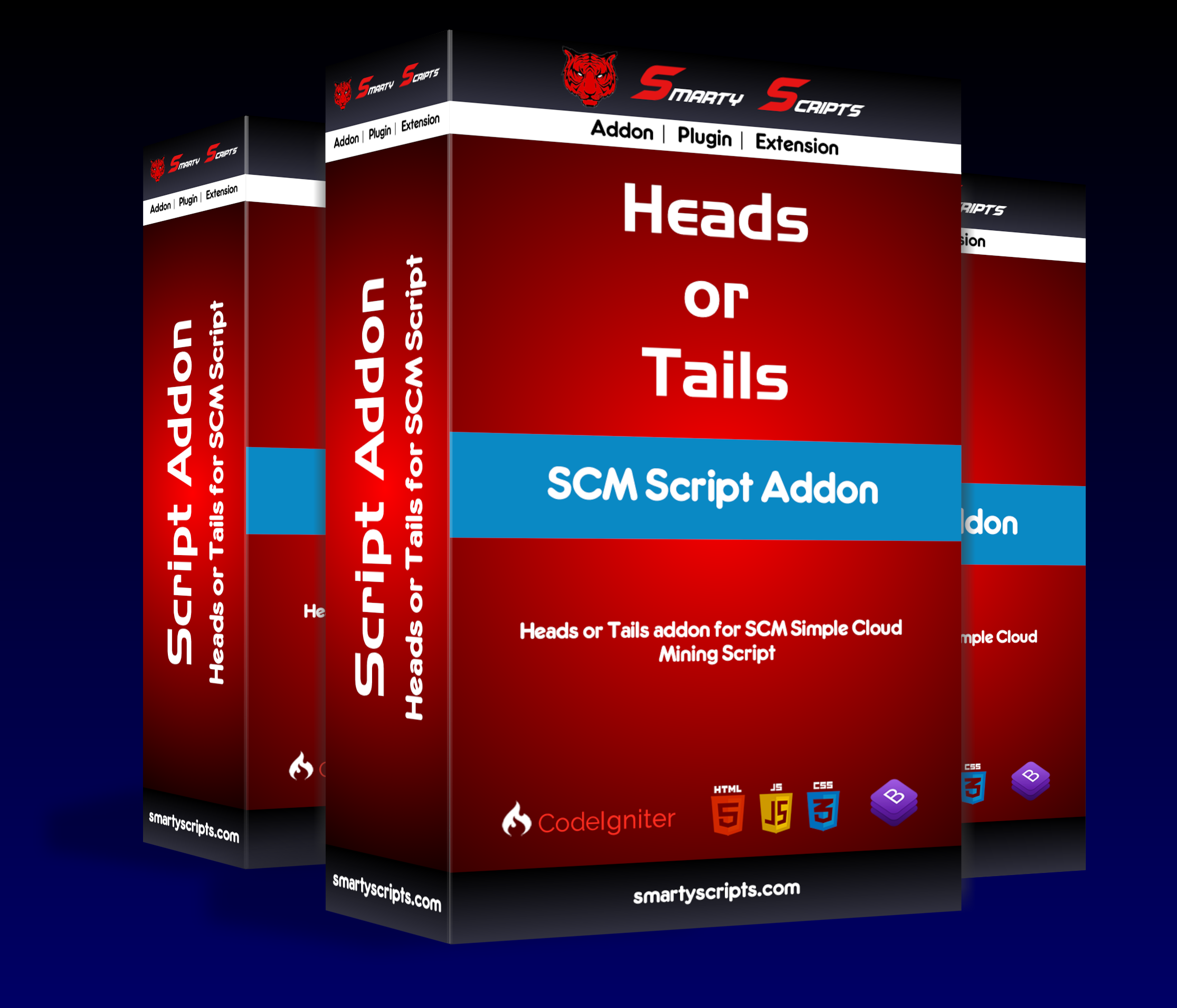 Addon Heads or Tails Game for SCM Script