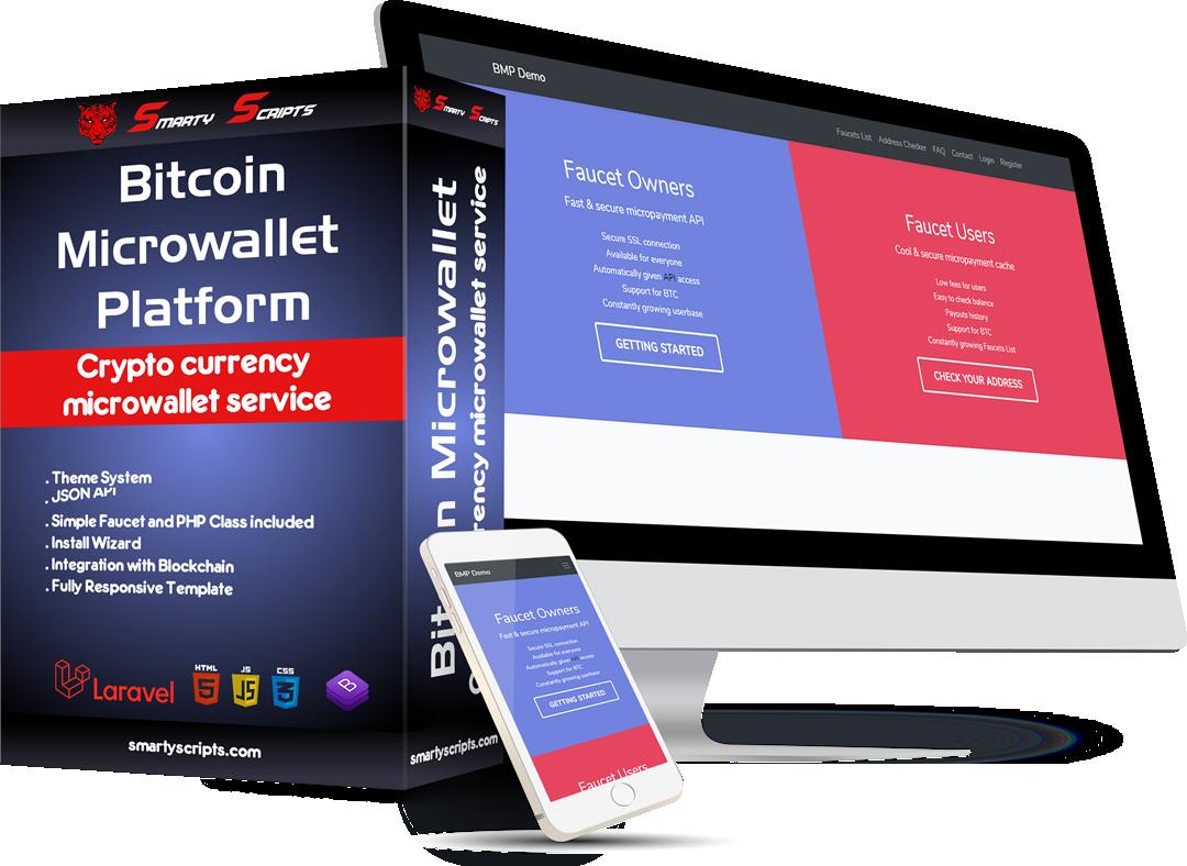 BMP - Bitcoin Microwallet Platform - Preview