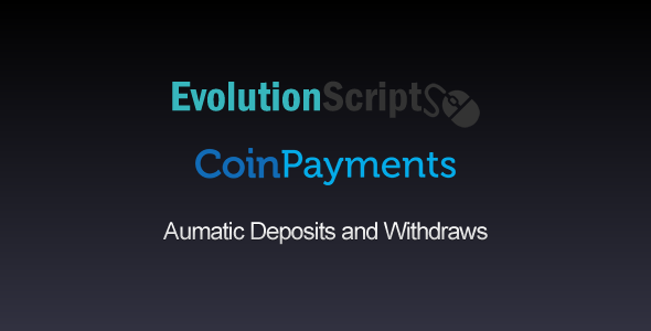Coinpayments Addon for EvolutionScript